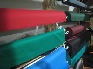 Sun Prairie pool table recovering table cloth colors